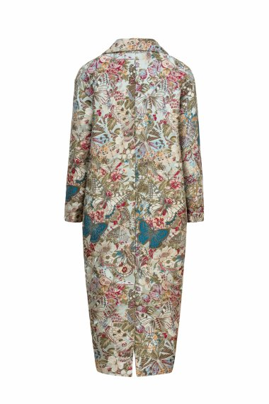MULTICOLOURED JACQUARD COAT